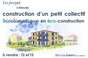 Affiche Immeuble Brioude
