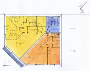 plan 2ème étage immeuble brioude